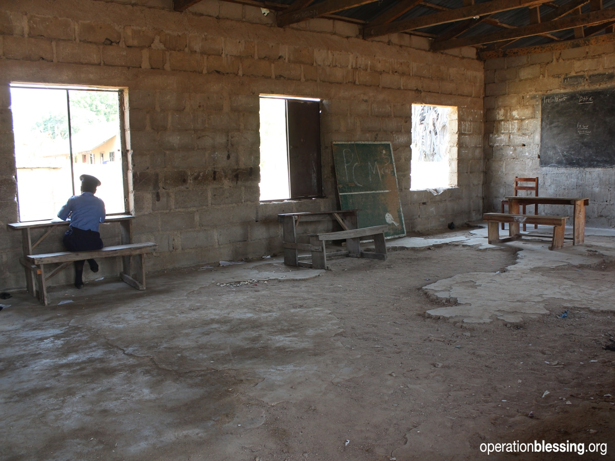 Operation Blessing rebuilds Nigerian school after Boko Haram attack
