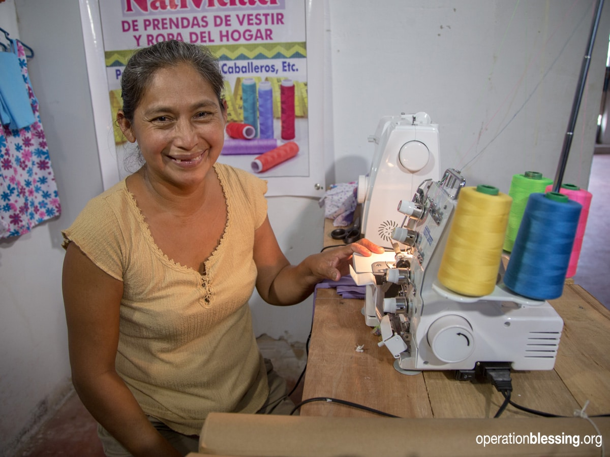 Gifts for Natividad, Peru, sewing, seamstress