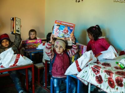 Persecuted Christian Children in Syria Celebrate Christmas