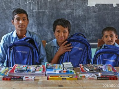 These three friends from Nepal were determined to learn.