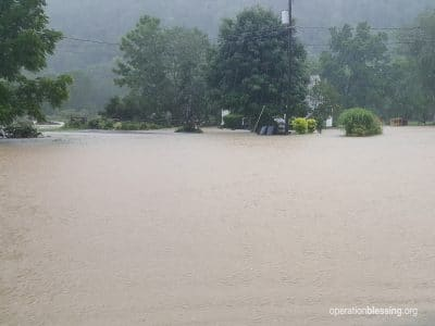 Historic flooding sweeps through West Virginia.