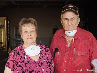 Mike and Dorothy are left salvaging what they can after deadly Texas flooding.