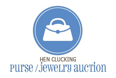 Hen Clucking Purse or Jewelry Auction