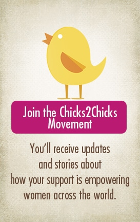 Join the Chicks2Chicks movement