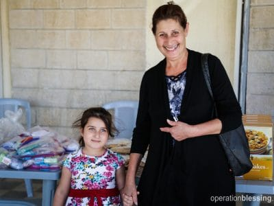 Christian refugees, Moona and Tach are thankful to be in Jordan, far from the violence that has overtaken their home.