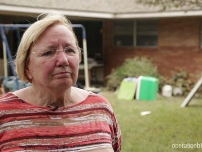 Without flood insurance, Marilyn has a tough road ahead.