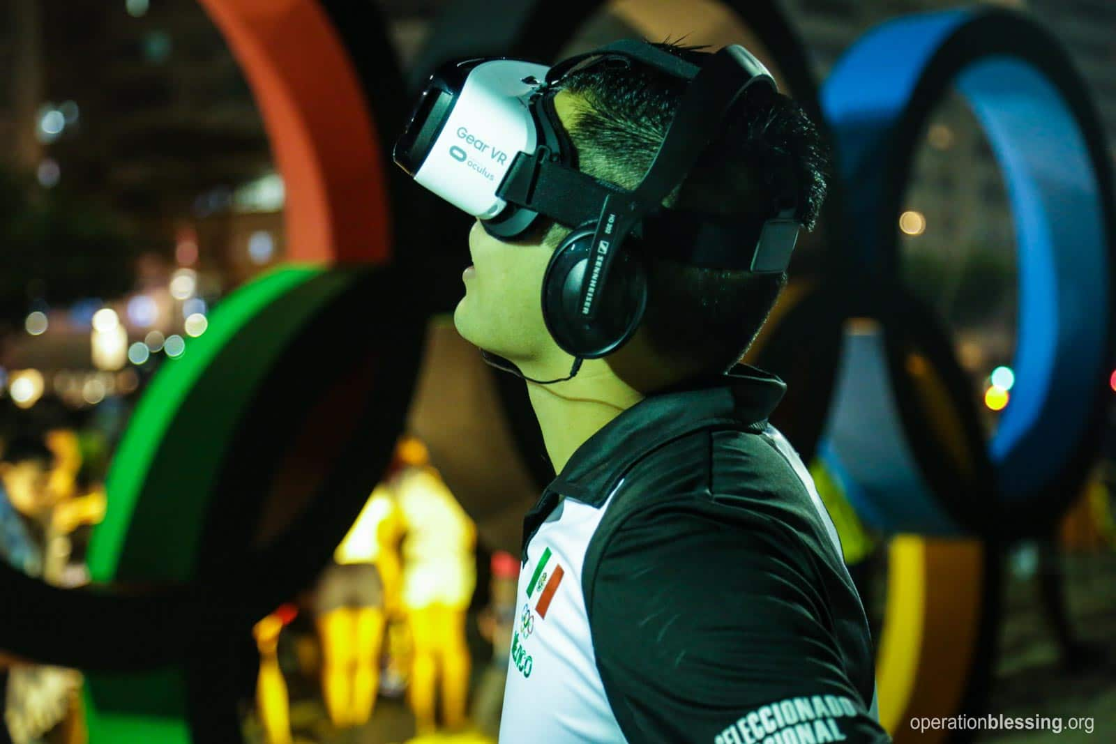 October Happenings kicks off with a young man in Rio coming face-to-face with human trafficking via virtual reality.