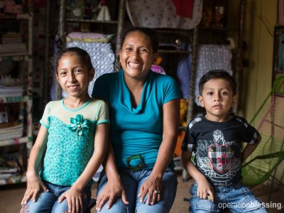 A small business is changing life for this family.
