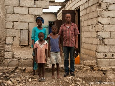 A family braces for the storm in Haiti