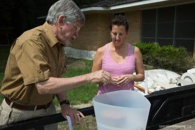 November Happenings kicks off with Bill Horan distributing Kohler Clarity filtration systems.