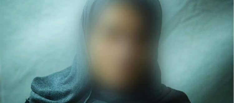 This woman was a former ISIS sex slave who escaped.