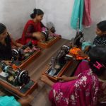 The CAS sewing class in Pakistan.