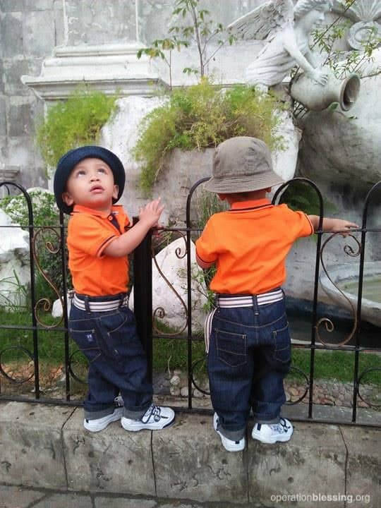Luis and Renzo can climb and play like any other children now!