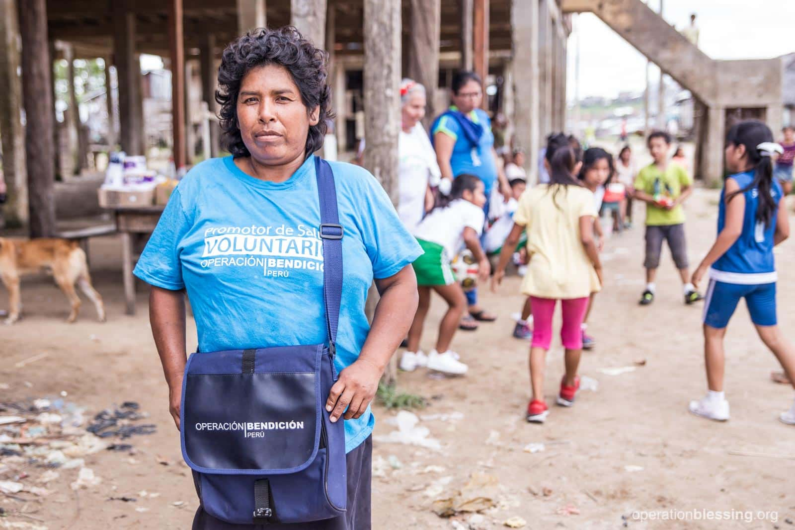 Sonia is always ready to go and serve anyone in her Peruvian community in need of the basic medical and life-saving skills she learned in her Community Health Workers program.