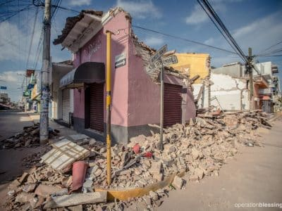 After the earth shakes in Mexico and Guatemala, homes and businesses are left devastated.