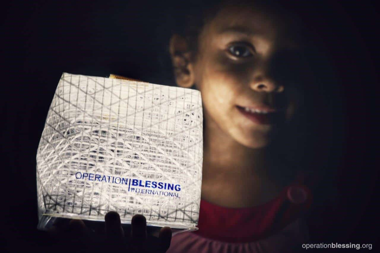 Solar lights are helping bring hope and joy back to Puerto Rican children.