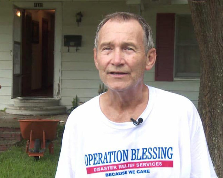 When Craig saw the video footage after Hurricane Harvey, he wanted to pay it forward because so many volunteers had helped him with flood damage a few years earlier.