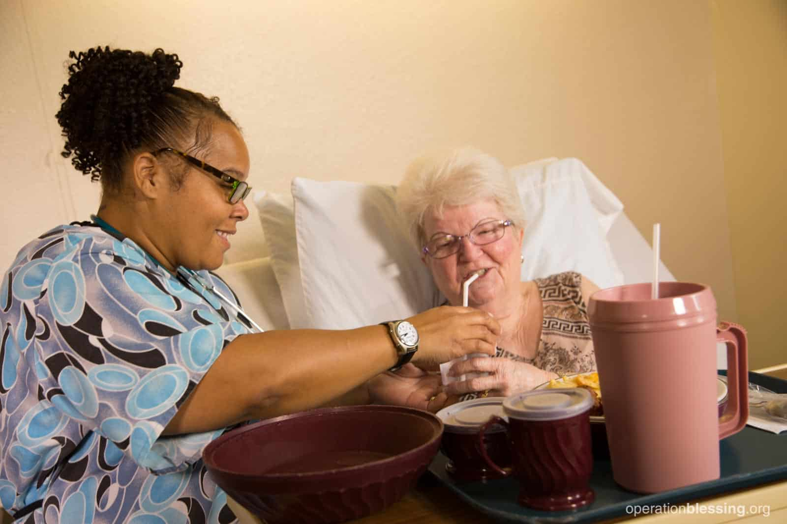 Food for a nursing assistant in need operation blessing for Assistant cuisine