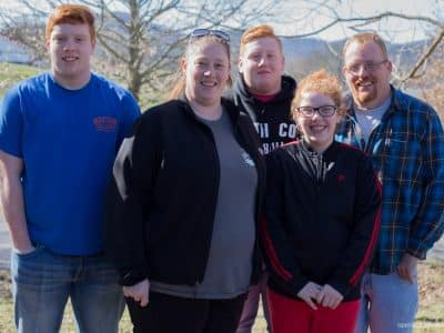 This family of five struggled to pay their bills until they reached out to an Operation Blessing-sponsored food pantry.