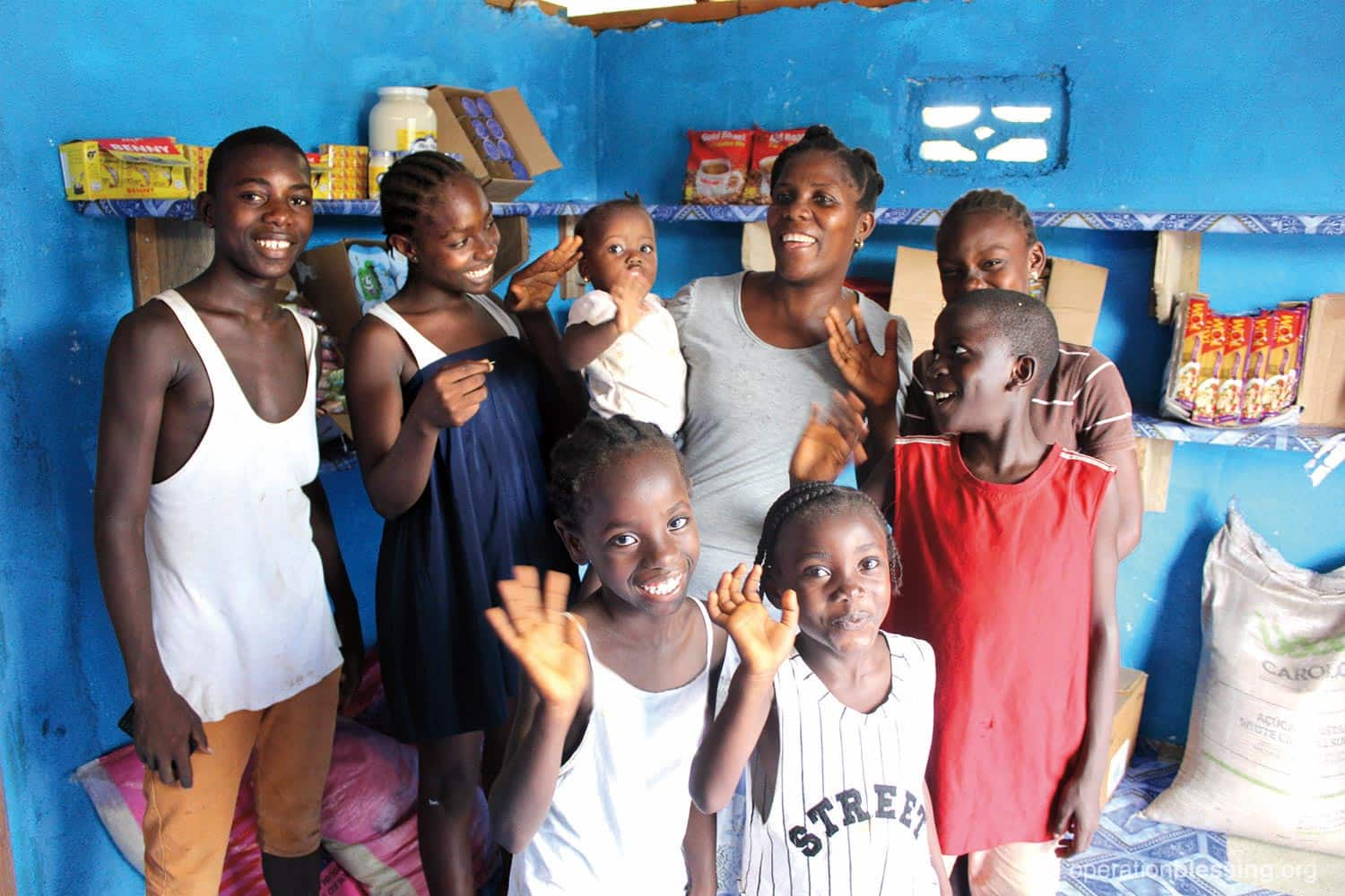 FEBRUARY: OBI is helping keep orphans in Liberia in loving homes with their extended family by providing education support and small businesses to help these families earn enough income to support additional children.