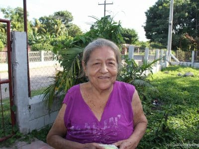 Ethel is back to work and good health thanks to medicines provided by donations to OBI's gift-in-kind program.