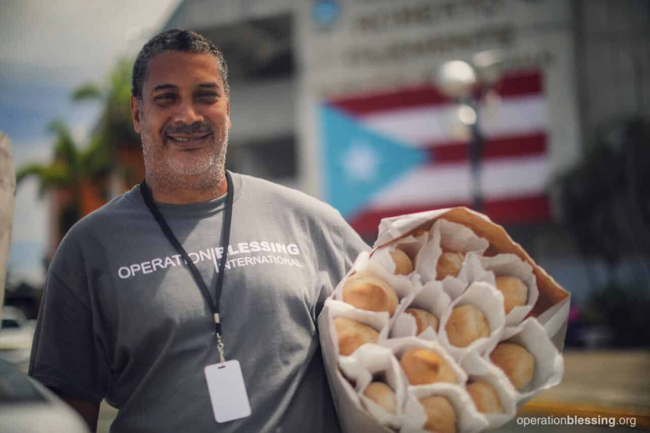 Bread for the people of Puerto Rico.