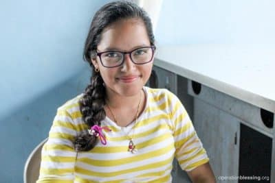 Hellen is no longer troubled by the shared fear of falling prey to human traffickers. She aspires to be a journalist.