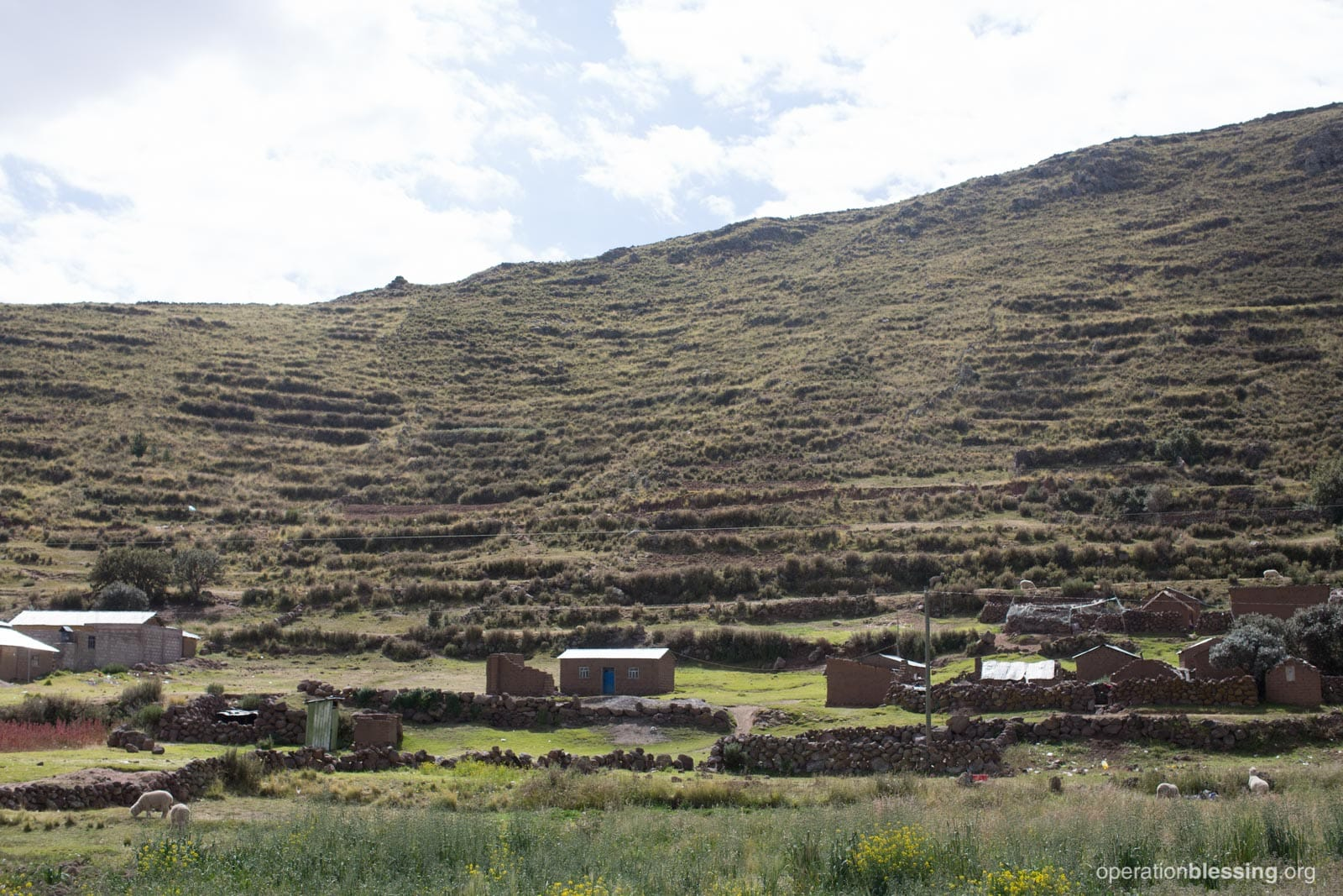 The remote village of Machacmarca in Peru.