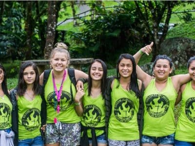 These young women are inspired and encouraged, even through times of abuse, by the educational program at Seeds of Hope in Costa Rica.