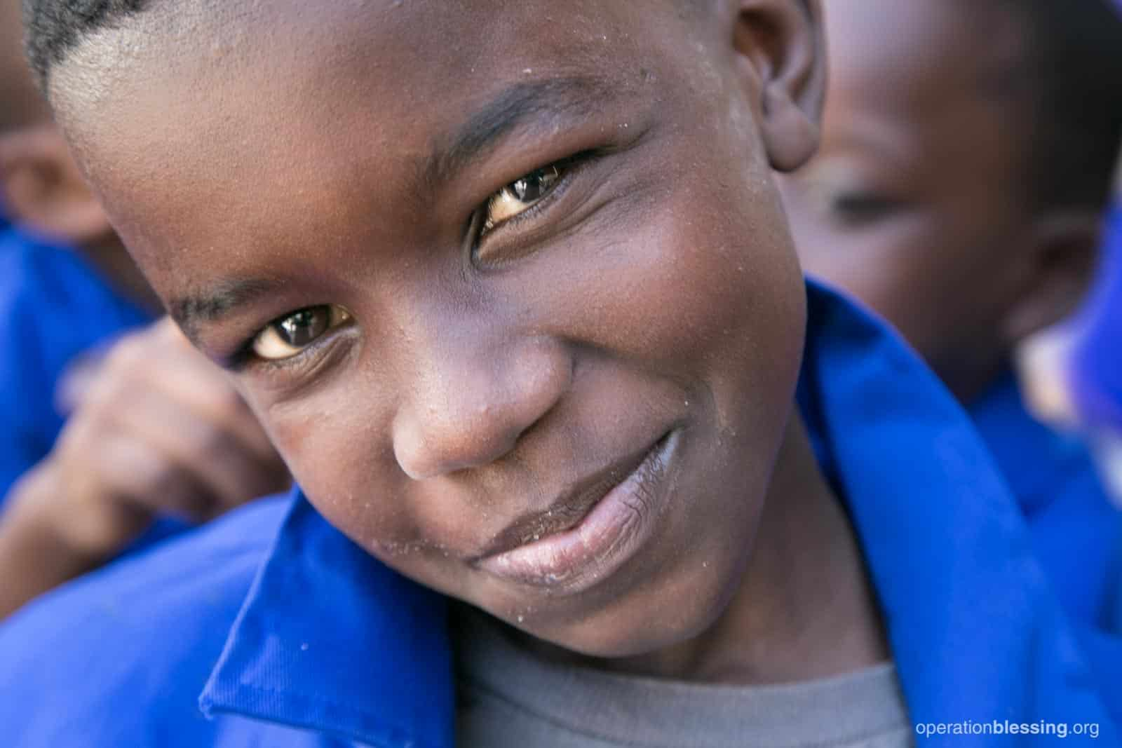 This boy in Senegal has new hope and a brighter future thanks to a computer lab in his school.