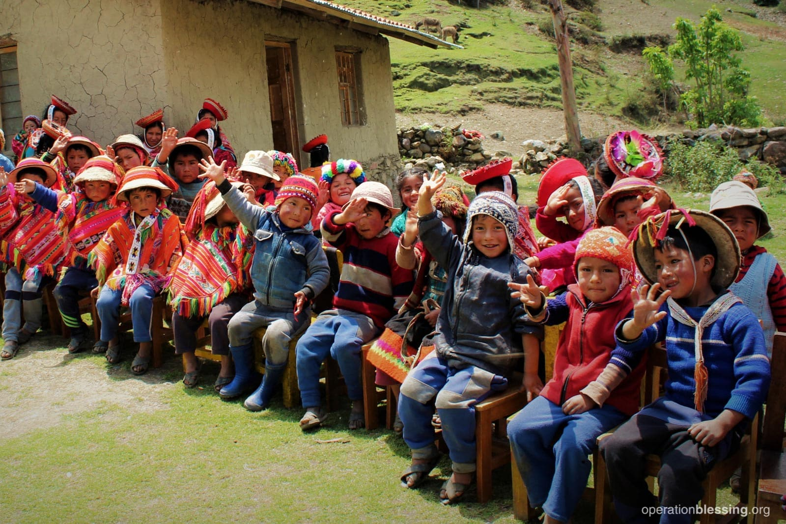 These adorable school children in Cusco will now have safe water.
