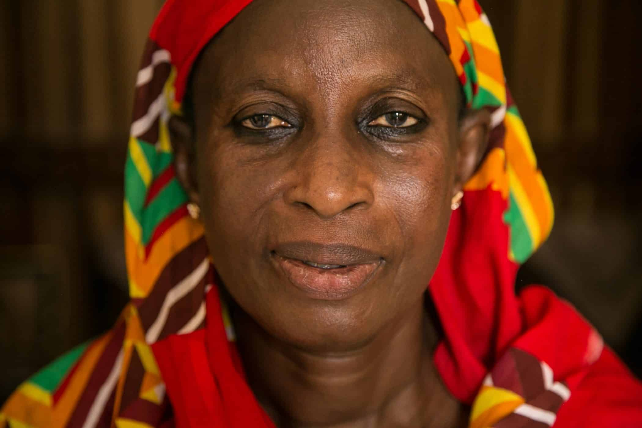 This is Seynabou, a grandmother in Senegal who supports herself and her husband with a small ice cream business.