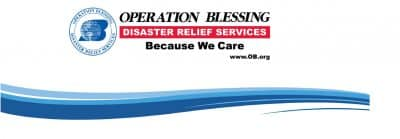 Operation Blessing disaster logo.