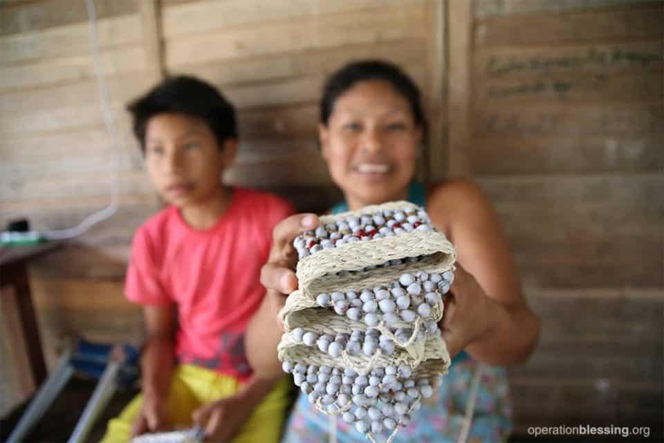Loily's bracelets.