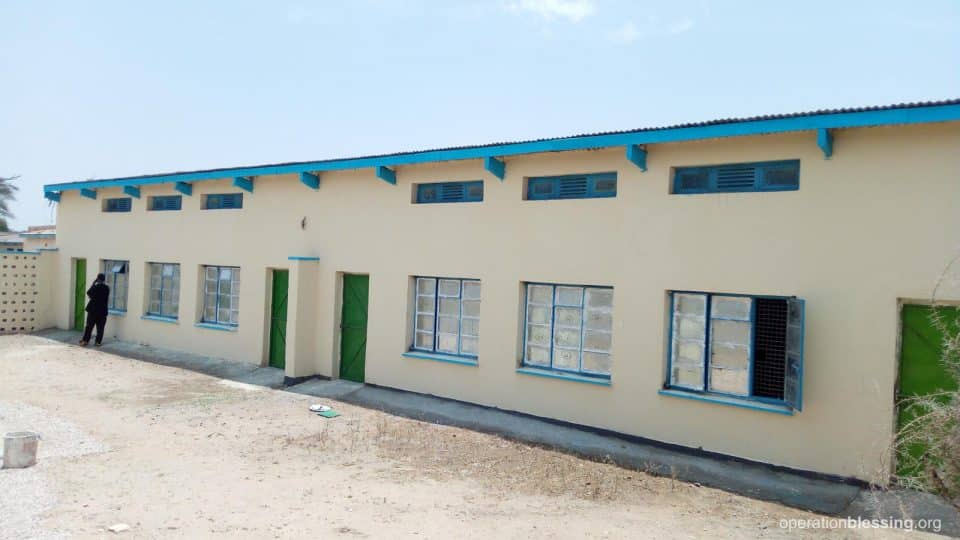 Special needs school after renovations.
