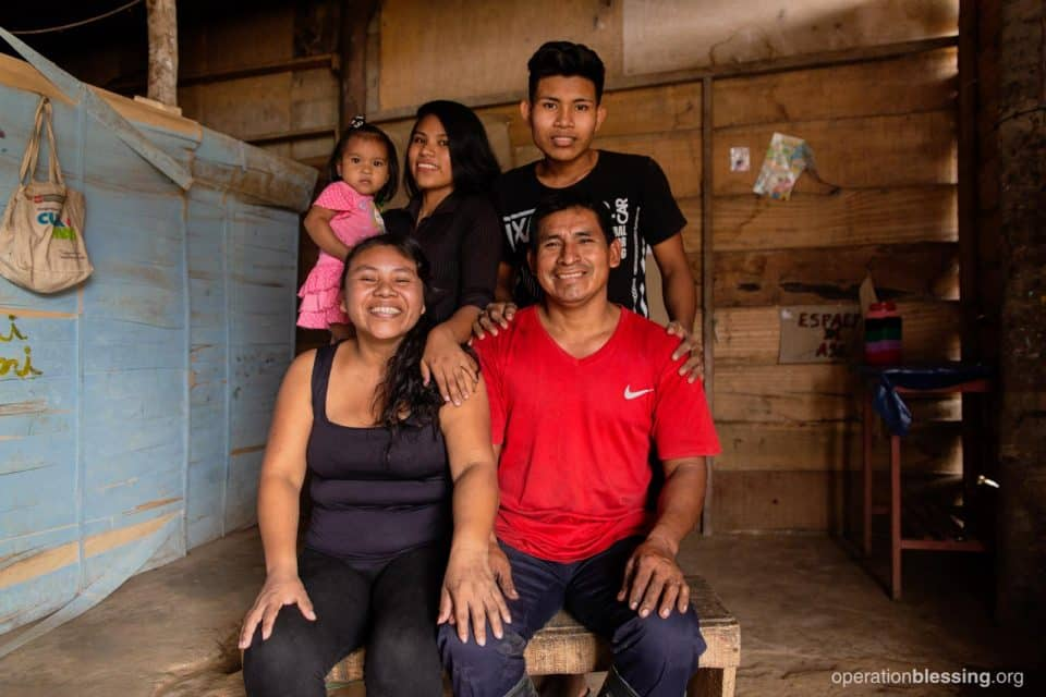 Fermin with his family.