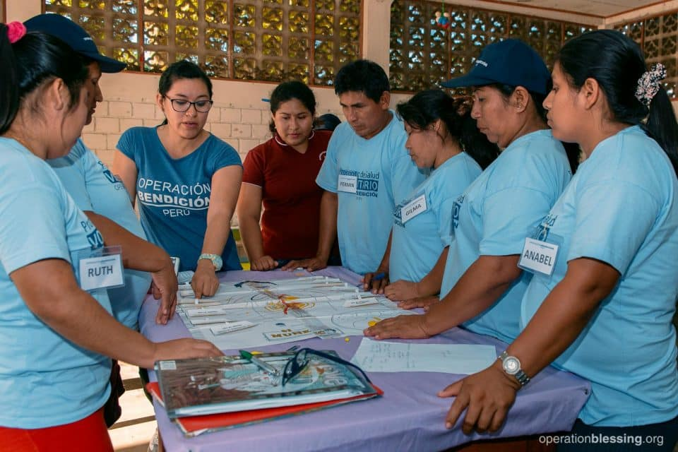 Fermin in his health worker training course.