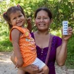 Children like Andrea receive medical care thanks to OB partners.