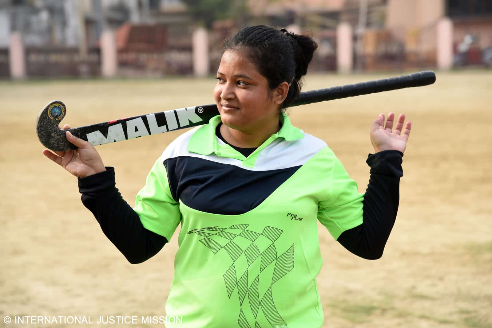 With help from Operation Blessing and the International Justice Mission, Pavi escaped trafficking and now plays professional field hockey.
