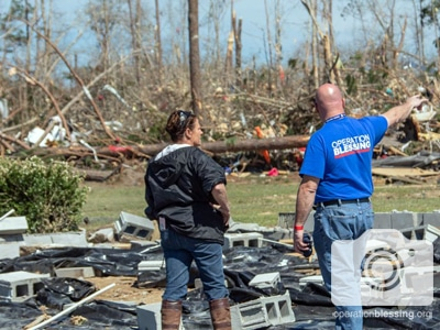 Victim and disaster relief worker survey 2019 Alabama Tornado