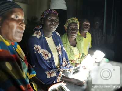 Solar lights and other disaster relief for victims of Cyclone Idai in Zimbabwe.