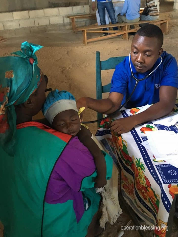 This young, dying boy named Lobenson received help from the OB Haiti medical brigade just in time.