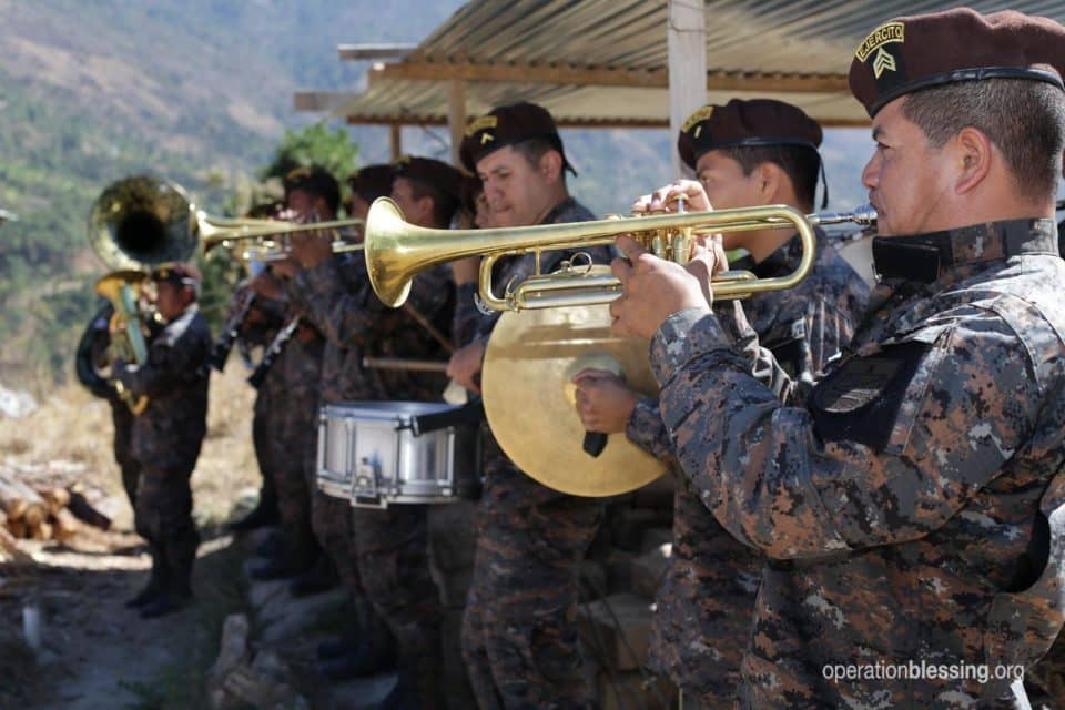 A band from the Guatemalan ministry of defense.