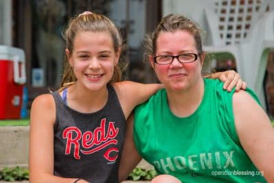 This mother and daughter found joy after the storms of the tornado in Dayton, Ohio.