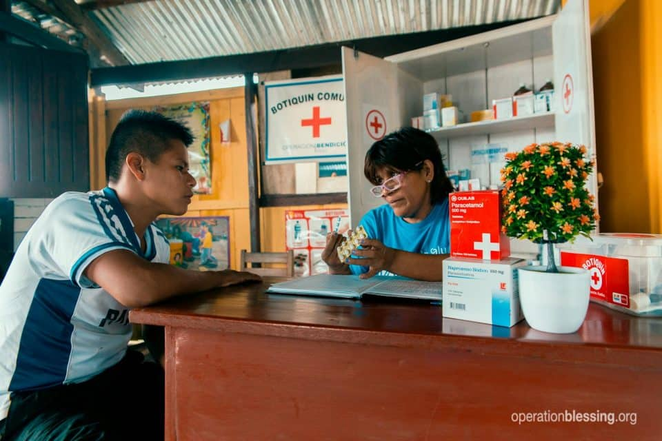 Community health workers like Frida give love in physical form.