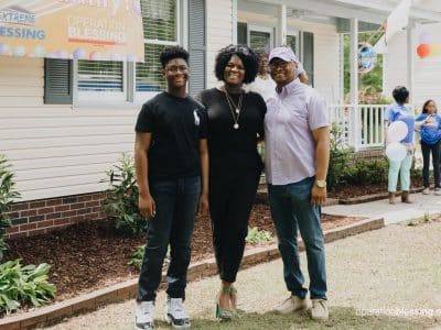 This family's tragedy turned to triumph with an Extreme Blessing Home Makeover.