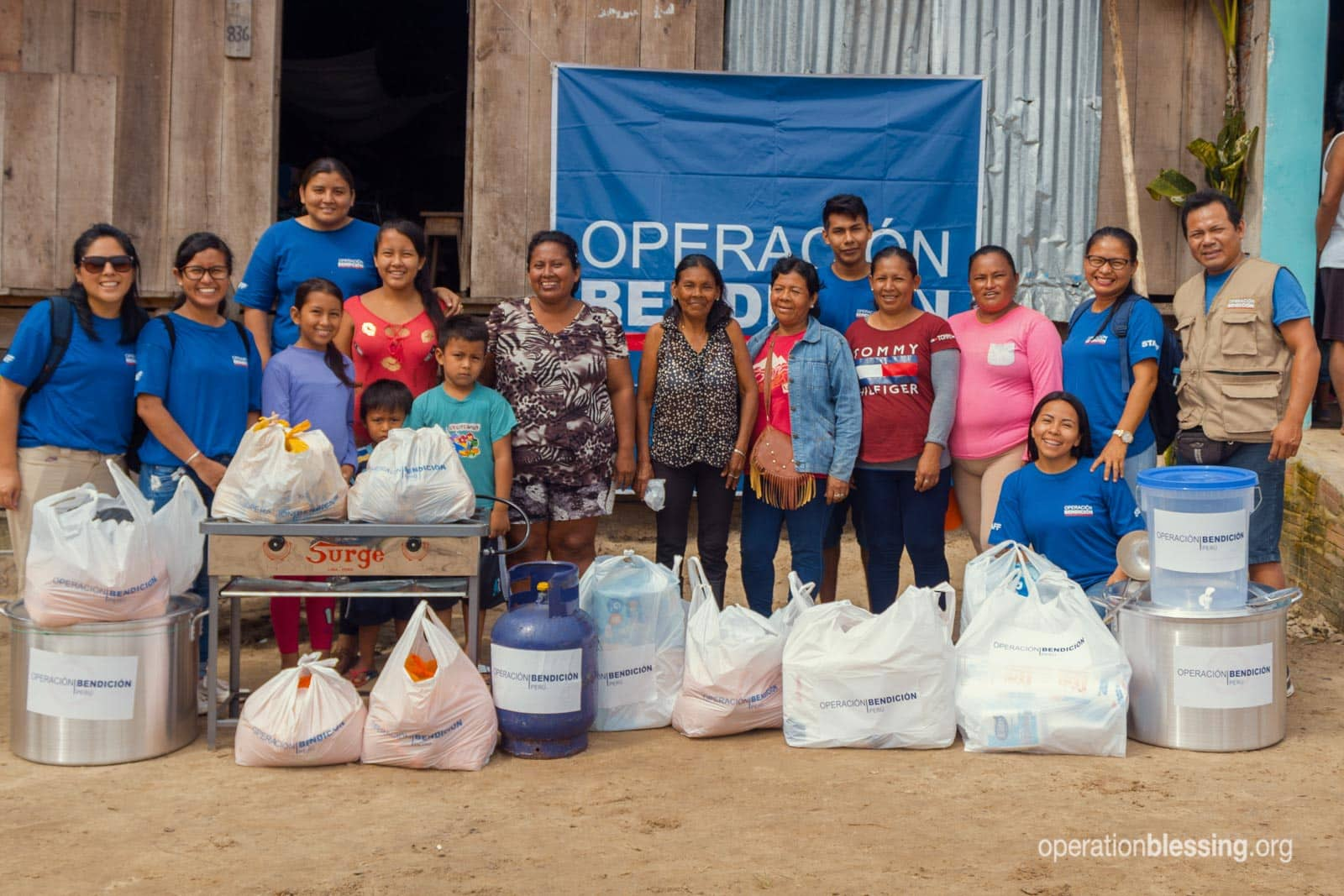 Operation Blessing delivers disaster relief supplies thanks to support from friends like you.