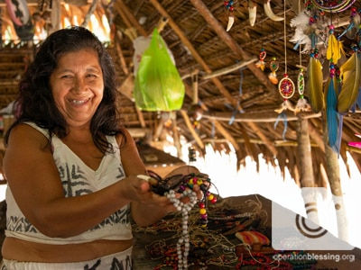 Jewelry making microenterprise in Latin America