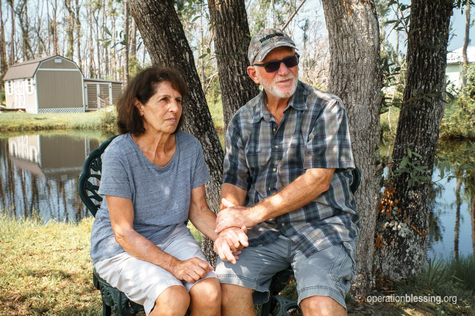 Almost a year later, the Petersons still need help with their home in Florida.
