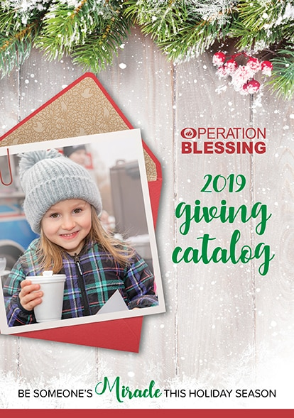 2019 Operation Blessing Giving Catalog